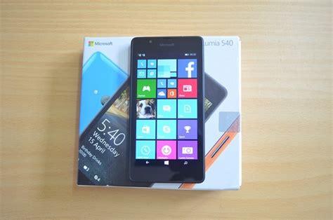 Update Microsoft Lumia 540 microsoft lumia 540 unboxing and impressions