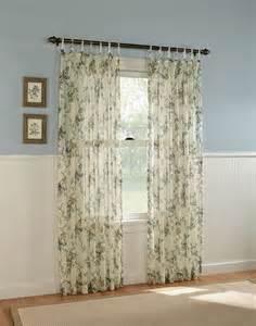 Gardendale floral semi sheer curtain panel curtainworks com