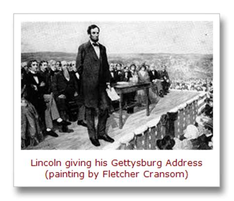 s gettysburg address makes closing argument for this day in quotes november 2014