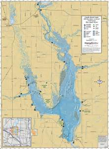 castle rock lake wall map