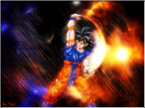 imagenes de goku en movimiento fondos de pantalla de dragon ball z fondos de pantalla
