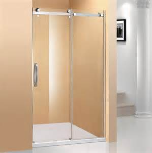 glass frameless sliding custom shower door custom shower
