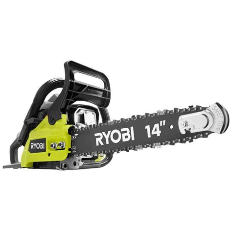 ryobi 14 in 37cc 2 cycle gas chainsaw ry3714 the home depot