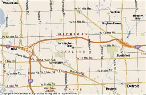 houses for rent in farmington hills mi farmington hills michigan map michigan map