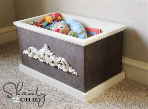 build easy wooden toy box plans plans woodworking