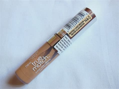 L Oreal True Match Blendable Concealer Loreal l oreal true match blendable concealer light medium review swatch eotd