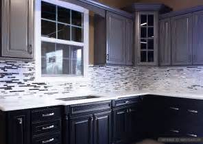 cabinet white countertop marble metal backsplash tile from river granite cabinets ideas