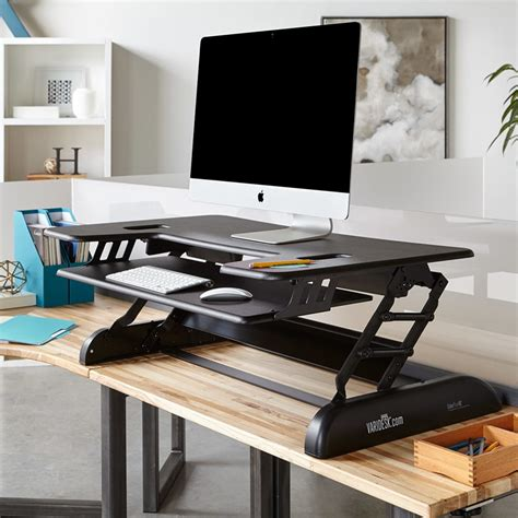 Standing Desk Addition by Height Adjustable Standing Desks Varidesk Sit To Stand Desks