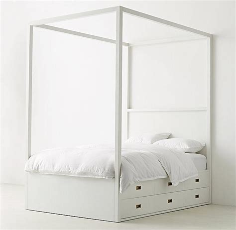 canopy bed with storage ellipse metal canopy bed west elm