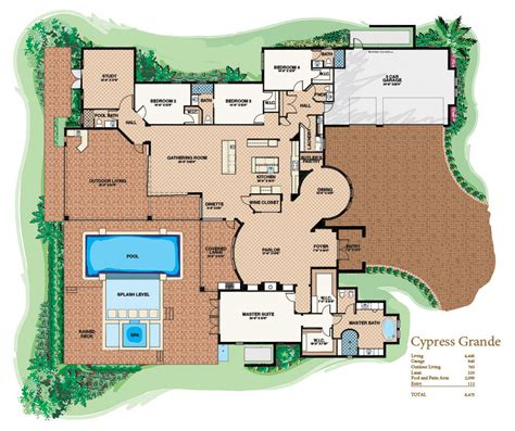 Customized House Plans Custom Home Floor Plans Custom Home Floor Plans Near Auburn Falls Crest Floor Plans
