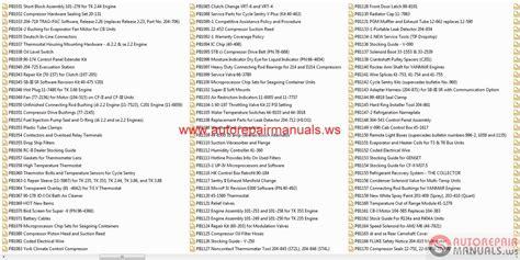 kenworth t680 parts list kenworth paccar engine fault codes kenworth free engine