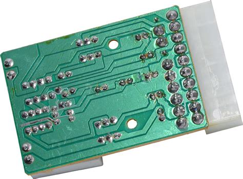 simple circuit board review 18 connectland atx power supply tester