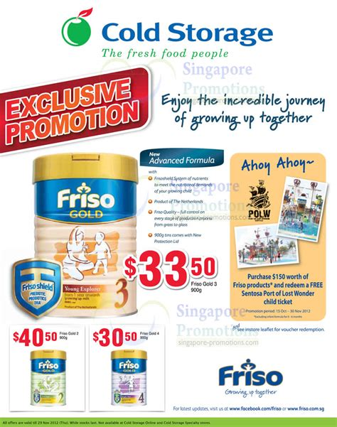 friso comfort singapore cold storage toddler milk powder wine offers 2 8 nov 2012