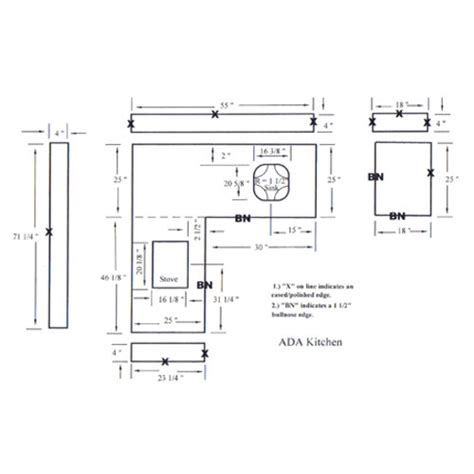 top bar section cad drawing kitchentop drawing countertops drawing vanity