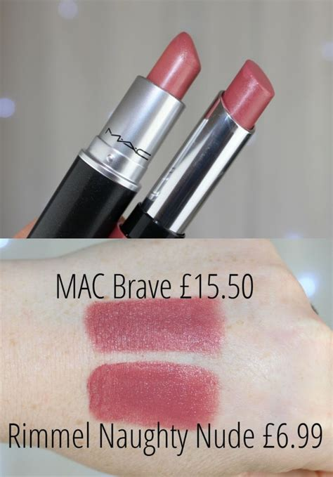 Mac Lipstick Brave Beige mac brave dupe dupes mac brave dupes and macs