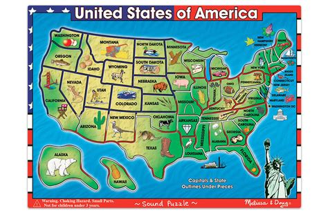 printable united states map puzzle usa map sound puzzle
