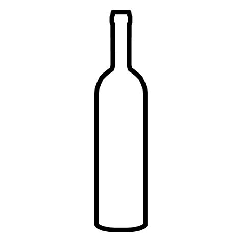 black and white chagne bottle clipart wine bottle black and white free download best wine