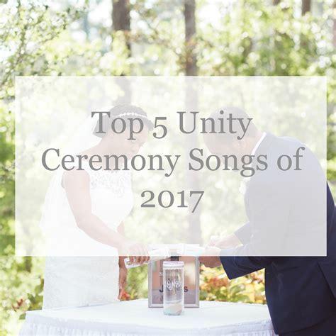 Top 5 Unity Ceremony Songs   Wedding DJ & Photographer