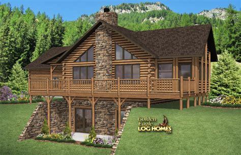western floor plans golden eagle log and timber homes floor plan details