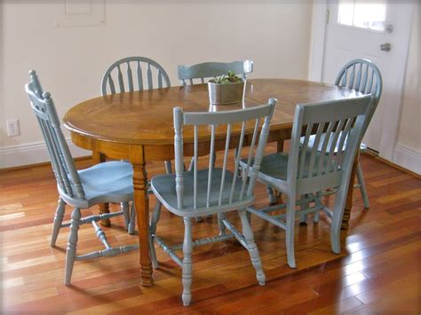 Grey Painted Dining Room Furniture Grey Painted Dining Room Chairs Home And Diy Pinterest