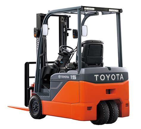 toyota forklift s new three wheeled counterbalance