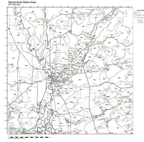zip code maps sacramento workingmaps com zip code maps