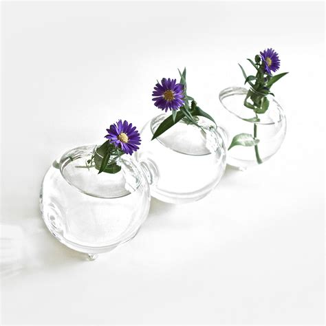 glass globe vase glass globe vase bl industries touch of modern