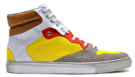 Balenciaga Patchwork Sneakers - balenciaga men s summer 2012 footwear collection