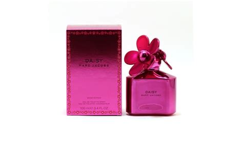 marc jacobs daisy 3 4 oz eau de toilette spray marc jacobs daisy shine pink eau de toilette for women 3