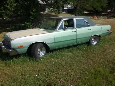 1974 dodge sedan for sale dodge dart sedan 1974 xfgiven color xfields color