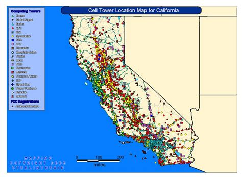 cell tower map cell tower map map3