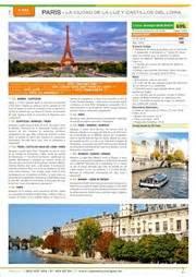 mayores 55 a os el corte ingles ofertas de viajes a par 237 s en el folleto de viajes el corte