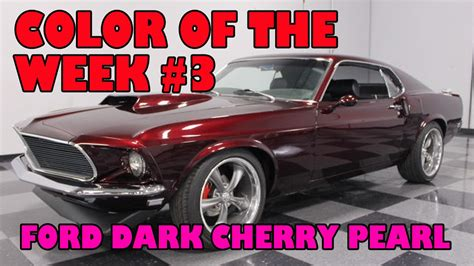 black cherry color ford cherry pearl color of the week 3