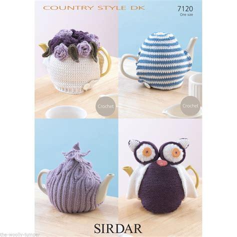 sirdar country style dk 7120 sirdar country style dk tea cosy cosies crochet