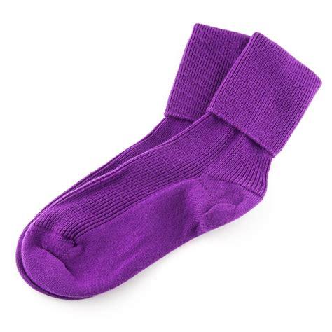 socks uk black co uk purple socks in purple lyst