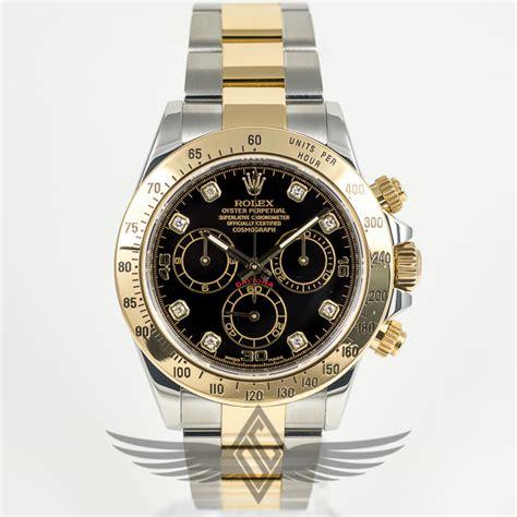 Rolex Daytona Gold Automatic rolex daytona steel gold oyster bracelet black