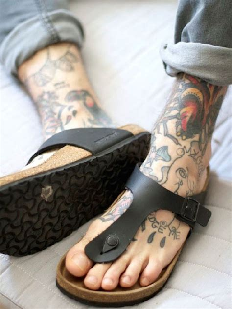 mens foot tattoo designs 35 outstanding foot designs