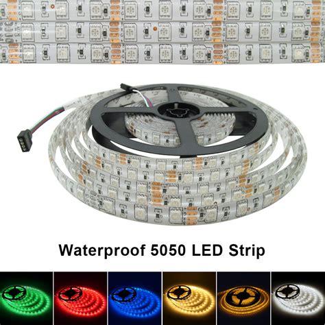 5050 smd 300 led strip light rgb 5m lot waterproof 5m 300 led smd 5050 led strip 12v 60