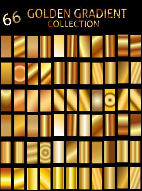 gold pattern illustrator illustrator golden gradient collection by zakaria1854