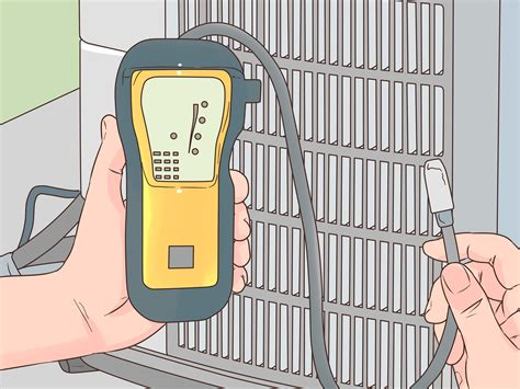 Adding Refrigerant To Home Ac Unit - how to put freon in an ac unit with pictures wikihow