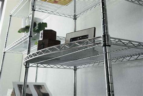 scaffali componibili acciaio componibili in filo d acciaio elementi scaffalatura