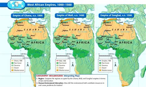 map of west africa west africa in the 1500s click the links below to access