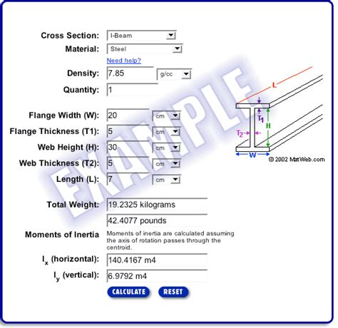 weight calculator how to calculate weight of steel beam