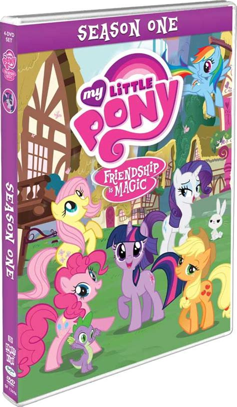Seri Dvd Animasi My Pony Friendship Is Magic Season 1 my pony friendship is magic lanzamientos bd y