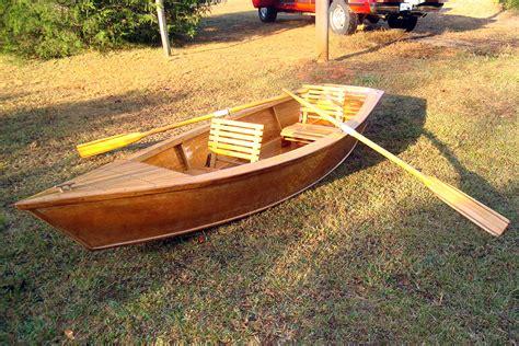 Wooden Boat Plans Skiff