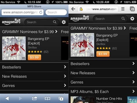 download mp3 from web to iphone amazon mp3 web app lets iphone and ipod touch users buy
