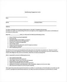 28 bookkeeping letter of engagement template 10
