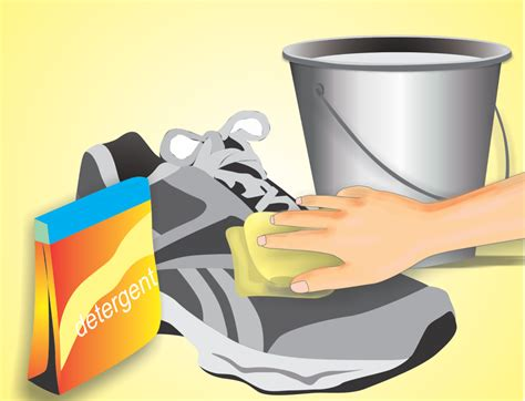7 Steps To Clean And Fresh Workout Shoes by How To Wash Shoes 7 Steps With Pictures Wikihow