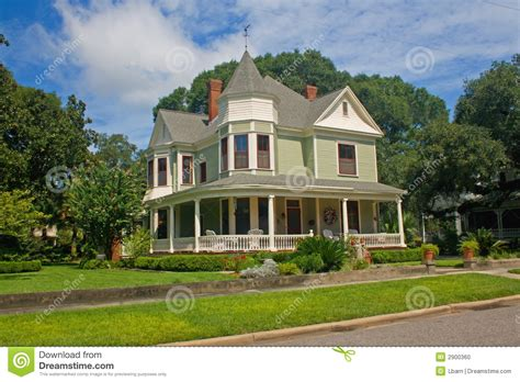 Historic Home Plans by Coastal Victorian Home 3 Stock Photo Image 2900360