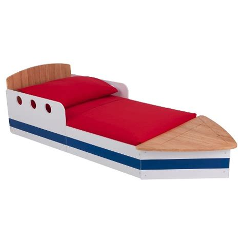 kidkraft boat bed kidkraft boat bed natural striped target